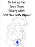Soccer Players Colouring-in Book (English, Arabic)
