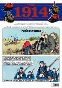 Journal de guerre – 1914 La couverture du livre martien