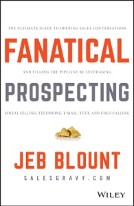 Fanatical Prospecting Book Cover