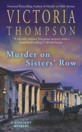 Murder on Sisters' Row book