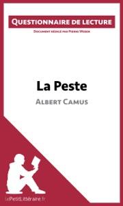 La Peste d'Albert Camus Book Cover