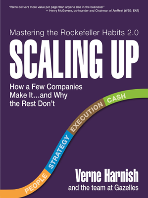 Scaling Up - Verne Harnish book