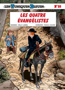 Les Tuniques Bleues - Tome 59 - Les quatre évangélistes La couverture du livre martien