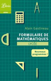 Formulaire de mathématiques