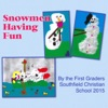 Snowmen Having Fun 2015