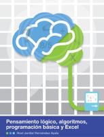 Pensamiento lógico, algoritmos, programación básica y Excel