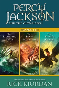Percy Jackson and the Olympians: Books I-III Book Cover