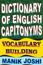 Dictionary of English Capitonyms: Vocabulary Building