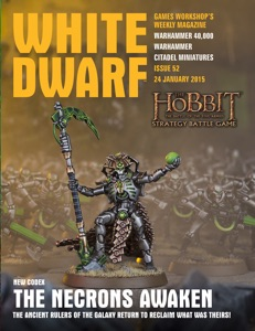 White Dwarf Issue 52: 24 January 2015 Book Cover