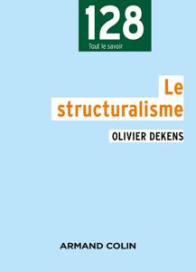 Le structuralisme Book Cover