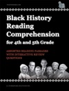 Black History Reading Comprehension For 4th And 5th Grade