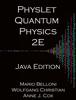 Mario Belloni, Wolfgang Christian & Anne J. Cox - Physlet Quantum Physics 2E artwork