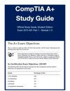 CompTIA A                      Study Guide