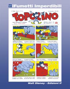 Topolino giornale n. 1 (iFumetti Imperdibili) Libro Cover