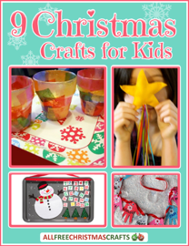 9 Christmas Crafts for Kids book