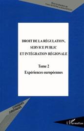 Droit De La R Gulation Service Public Et Int Gration R Gionale