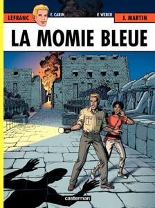 Lefranc (Tome 18) - La momie bleue La couverture du livre martien