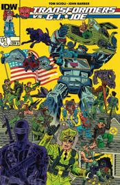 Transformers vs. G.I. Joe #1 book