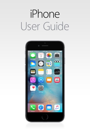 iPhone User Guide for iOS 9.3 image