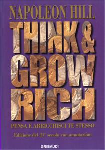 Pensa e arricchisci te stesso Libro Cover