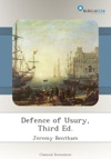 Defence Of Usury Third Ed