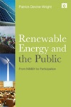 Renewable Energy And The Public