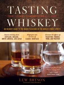 Tasting Whiskey by Lew Bryson Book Cover