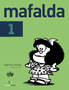 Mafalda 01 (Português) Capa de livro