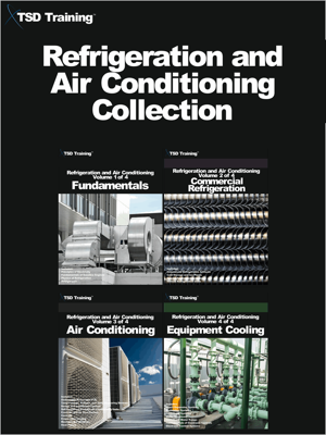 Refrigeration and Air Conditioning Collection (Volumes 1 to 4) - TSD Training book