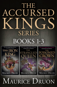 The Accursed Kings Series Books 1-3 Cover Book
