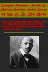 Complete Romance Novels  African-American Studies Essays Of W E B Du Bois