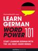 Innovative Language Learning, LLC - Learn German - Word Power 101 artwork