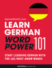 Learn German - Word Power 101 - Innovative Language Learning, LLC