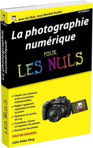 Photo numérique pour les Nuls, poche, 16e La couverture du livre martien