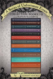 A Series Of Unfortunate Events Collection Books 1 13 With Bonus Material