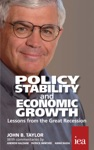 Policy Stability And Economic Growth  Lessons From The Great Recession