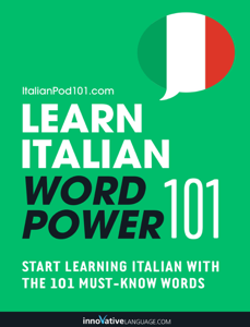Learn Italian - Word Power 101 Boekomslag