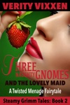 Three Naughty Gnomes And The Lovely Maid A Twisted Menage Fairytale