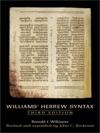 Williams Hebrew Syntax 3rd Edition