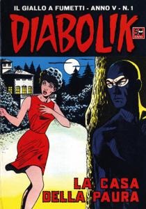 DIABOLIK (51) Libro Cover