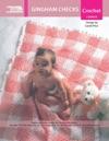 Gingham Checks Baby Afghan