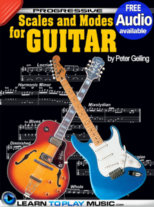 Lead Guitar Lessons - Guitar Scales and Modes Libro Cover