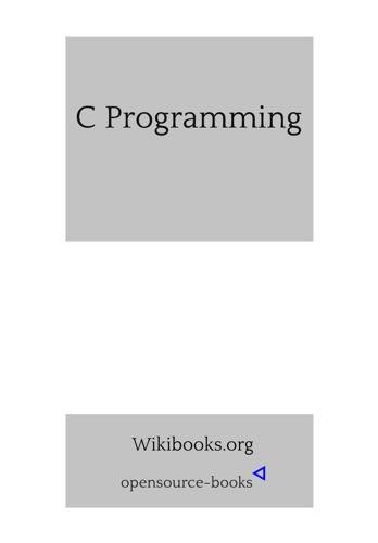 C Programming E-Book Download