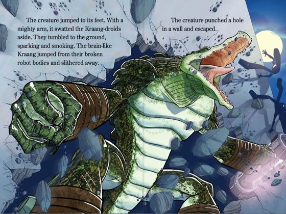 Mikey's Monster (Teenage Mutant Ninja Turtles) (Enhanced Edition)