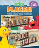 The Firehouse And The Police Station (Sesame Street Places)