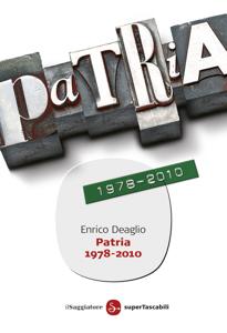Patria 1978-2010 Copertina del libro
