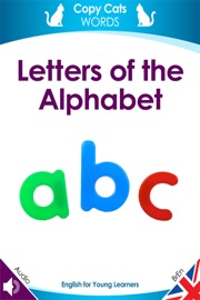LETTERS OF THE ALPHABET (BRITISH ENGLISH AUDIO)