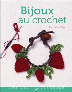 Bijoux en crochet Couverture de livre