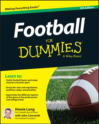 Football For Dummies - Howie Long & John Czarnecki book