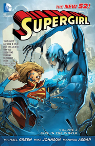 Supergirl Vol. 2: Girl in the World Buch-Cover